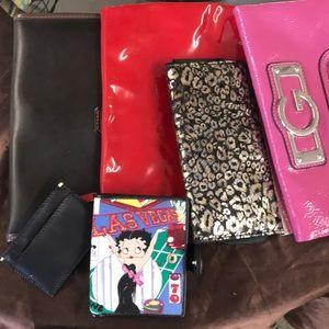 Handbags - Clutch Lot